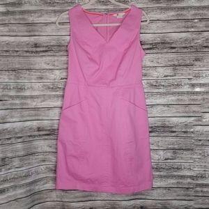 Boden Pink Cotton Denim Tank Dress
